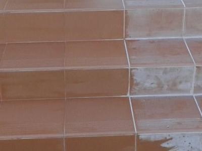 Płytki na schodach